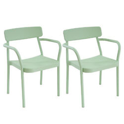 Grace Armchair SET OF 2 - Mint - DWR Exclusive Design Within Reach Outdoor