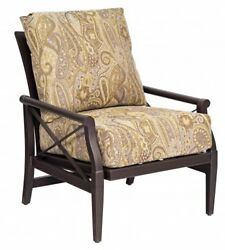 Woodard Andover Rocking Patio Chair with Cushions