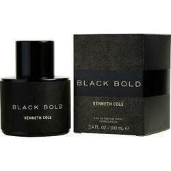 BLACK BOLD by Kenneth Cole cologne men EDP perfume 3.3 3.4 oz New in Box