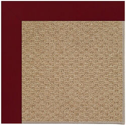 Longshore Tides Lisle Machine Tufted RedBrown IndoorOutdoor Area Rug