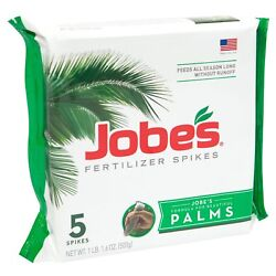 Jobes Palm Tree Fertilizer Spikes 10 5 10 Time Release Fertilizer for All Out... $17.10