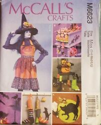 McCall#x27;s Pattern M6623 Halloween Kitchen Decorations New FREE SHIPPING $7.00