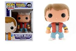 Funko Pop Movies: Back to the Future - Marty McFly Vinyl Figure Item #3400
