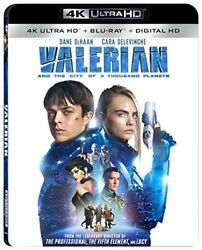 Valerian And The City Of A Thousand Planets [New 4K UHD Blu-ray] 4K Mastering
