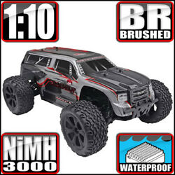 Redcat Racing Blackout XTE 1 10 Scale Electric Monster RC Truck Silver Red Suv $149.99