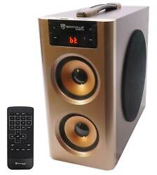 Rockville RHB70 Home Theater Compact Powered Speaker System w Bluetooth USB FM $39.95