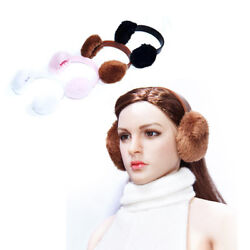 16 Scale Women's Earmuffs Ear Warmers Fit 12'' Female Action Figure Accessories