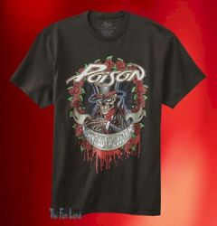 New Poison Nothing But a Good Time 1988 Mens Vintage Classic T-Shirt