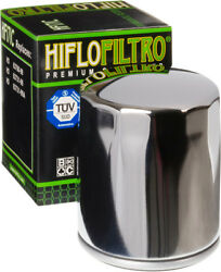 HifloFiltro Replacement Motorcycle Oil Filter (Chrome) HF171C $7.69