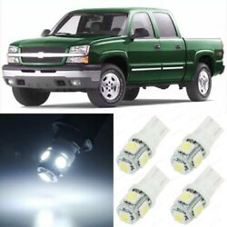 15 x White Interior Map LED Lights Package For 1999 2006 Chevy Silverado TOOL