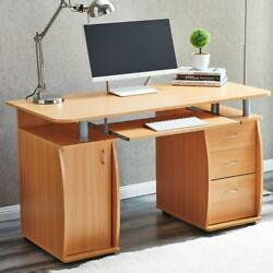 New Computer Desk PC Laptop Table wDrawer Home Office Study Workstation 3 Color $249.99