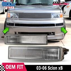 For Scion xB 2003 2006 Factory Replacement Fit Fog Lights Switch Clear Lens