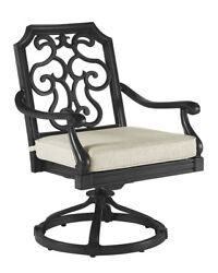 Canora Grey Hargrave Outdoor Rocking Chair with Cushion Set of 2