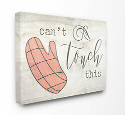 Ebern Designs 'Can't Touch This Oven Mitts' Textual Art