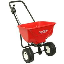 Earthway 2030P Plus Deluxe Estate Broadcast Seed and Lawn Fertilizer Spreader $119.99