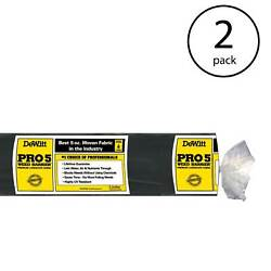 DeWitt P3 Pro 5 Commercial Landscape 5 Oz Weed Barrier Fabric 3 x 250#x27; 2 Pack
