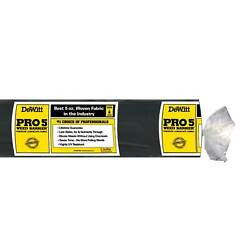 DeWitt P4 Pro 5 Commercial Landscape 5 Oz Weed Barrier Fabric 4 x 250#x27; 2 Pack