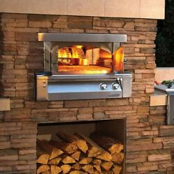 Alfresco 30 Inch Built-In Propane Gas Outdoor Pizza Oven