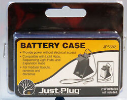 WOODLAND SCENICS BATTERY CASE FOR JUST PLUG LIGHTING SYSTEM wire JP WDS5682 NEW $4.94