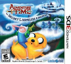 Adventure Time: The Secret of the Nameless Kingdom (Nintendo 3DS) BRAND NEW