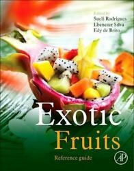 Exotic Fruits Reference Guide by Sueli Rodrigues Hardcover Book Free Shipping! $261.66