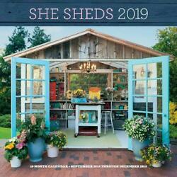 She Sheds 2019 by Erika Kotite Free Shipping!