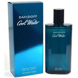 COOL WATER Cologne by Davidoff 4.2 oz edt New in Box $18.28