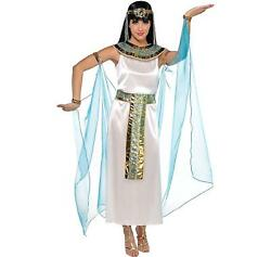 Amscan Queen Cleopatra Egyptian Adult Costume X-Large (Dress Size 14-16)