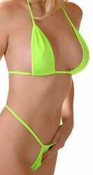 Flirtzy Teeny Micro Mini Thong and String Top Bikini Brazilian Swimwear Min $9.89
