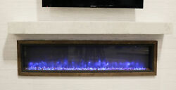 The Outdoor GreatRoom Company Gallery Non-Combustible Fireplace Shelf Mantel