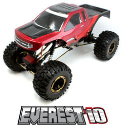 Redcat Racing Everest 10 1 10 Scale Electric Brushed 2.4ghz RC Crawler Red Black $159.99