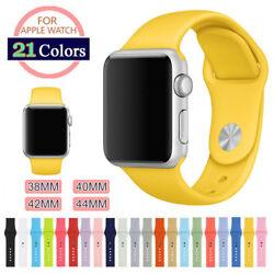 Silicone Sport Band Strap for Apple Watch iWatch Series 4 3 2 1 3840mm 4244mm