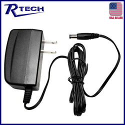 UL Listed 12V DC 1Amp 1A 1 Amp Power Supply Switch Adapter Transformer - R-Tech $10.99