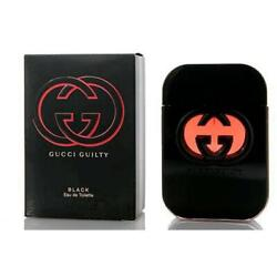 Gucci Guilty Black for Women Perfume 2.5 oz 75 ml edt NEW IN BOX