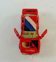 Diecast SM Brand Toy car S8632F Red SMP 32 TURBO Diecast Vehicle Opening Doors $12.88