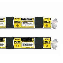 DeWitt P6 Pro 5 Commercial Landscape 5 Oz Weed Barrier Fabric 6 x 250#x27; 2 Pack
