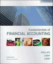 Fundamentals of Financial Accounting - Text only. $17.99
