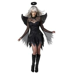 Cosplay Suit Exotic Apparel Sexy Adult Dark Devil Fallen Angel Halloween Costume