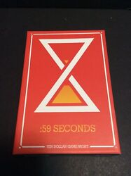 2005 Haywire Group 59 Seconds Fastest Ten Dollar Game Night Card Game