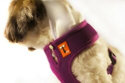 Tiny Smith Company Dog harness Mesh vest Royal Purple Size Medium New $15.99