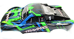 Slash 4x4 ULTIMATE BODY Shell (GREEN & Blue Cover Shell decals Traxxas 68077-4 $34.97