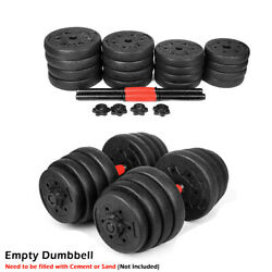 Empty New Weight Dumbbell Set Adjustable Gym Barbell Plates Body Workout $59.99