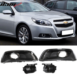 Fits 13-15 Chevy Malibu OE Fog Lights Lamps wSwitch + Bulbs + Cover accessories $55.99