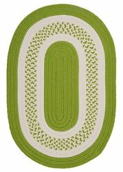 Bay Isle Home Rockport Bright Green IndoorOutdoor Rug