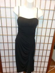 Women#x27;s Black Party Formal Dress by Charlotte Russe Size Small $8.00
