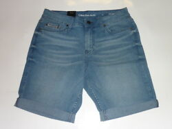 Calvin Klein Jeans Women's Denim Joel City Shorts Cuffed Hem New W Tags $13.01