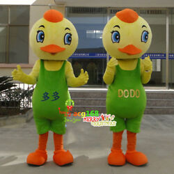 1Pc Bird Mascot Costumes Outfit Chicken Cosplay Suit Animals Unisex Adult Parade