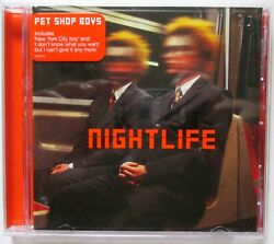Pet Shop Boys - Nightlife - 1999 UK CD - Parlophone - Early Vers incl. Catalogue