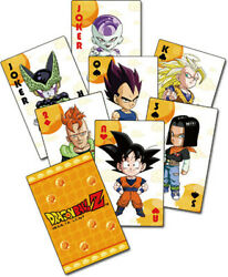 Dragon Ball Z - Sd Group Playing Cards Video Game