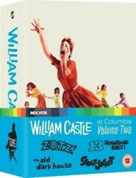 William Castle at Columbia: Volume Two [New Blu-ray] Ltd Ed Boxed Set UK - I